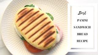 Panini Bread Recipe/Best sandwich bread recipe/How to make panini bread at home