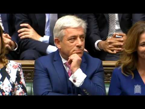 Parliament Returns: Election of Commons Speaker
