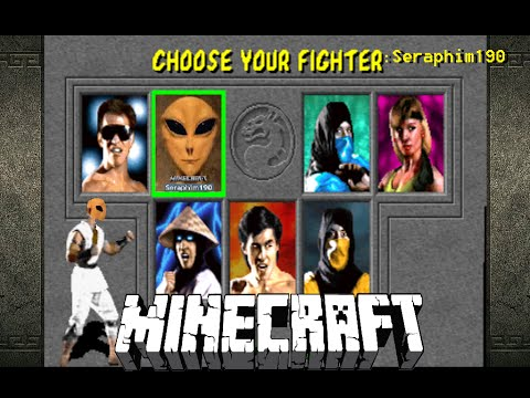 Mortal Kombat Arena In ( Minecraft  )   Seraphim190      Episode: 161