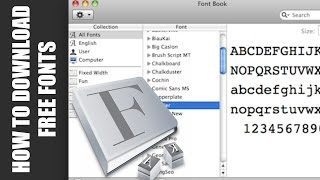 How to download free fonts on a Mac - Microsoft Office, Final Cut Pro, iMovie, Text Edit Thumbnail