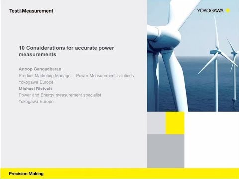 Webinar: 10 considerations for accurate power measurements