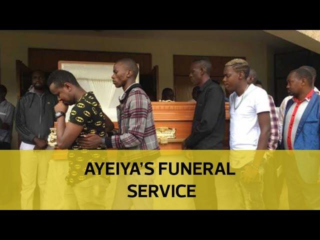 Ayeiya's funeral service