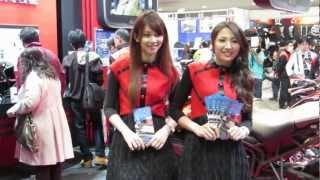 2013年3月23日東京ビックサイトで開催された第40回東京モーターサイク...