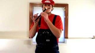 "Nose Recorder-""Super Mario Theme Song"""