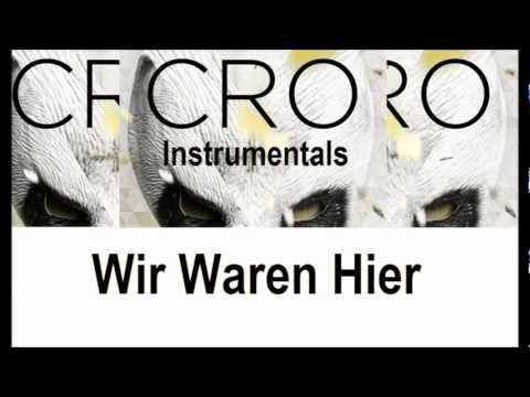Cro - Wir Waren Hier Instrumental