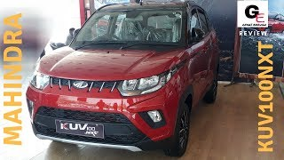 2018 Mahindra KUV 100 NXT K8 dual tone | red black | detailed review | features | specs !!!!
