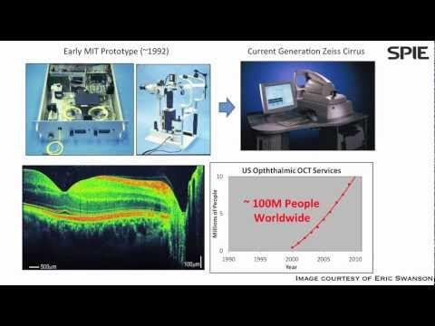 Optical coherence tomography: Applications expand as technology matures