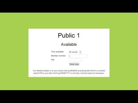BookingsPlus PC Bookings