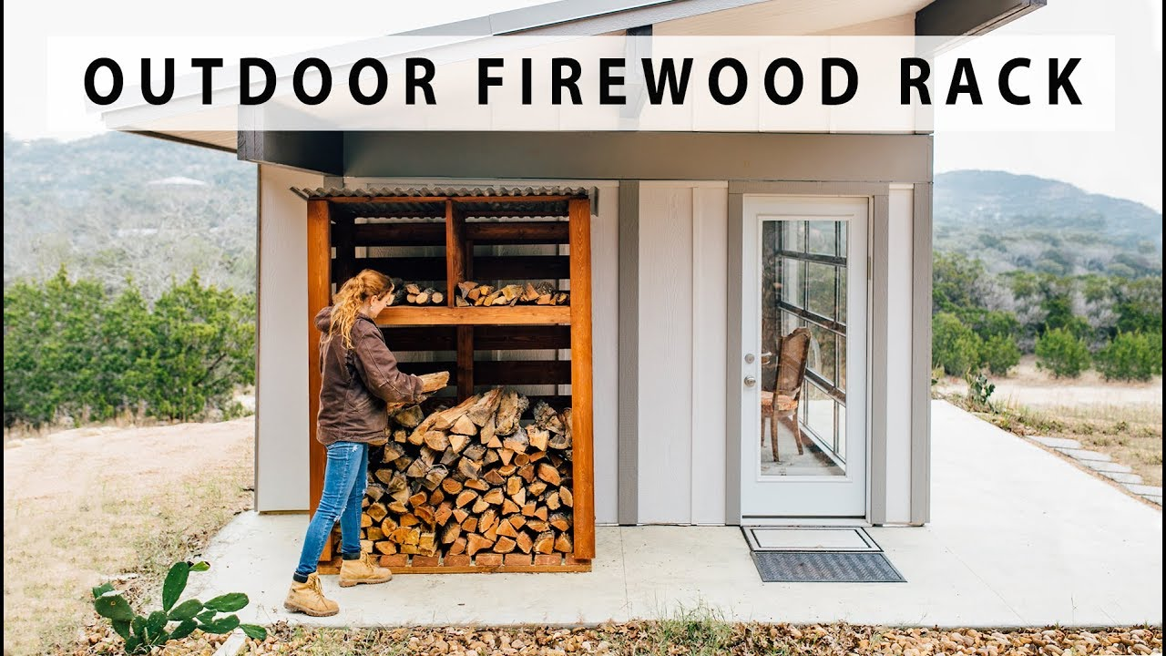 Outdoor Firewood Rack Diy Outdoor Firewood Rack