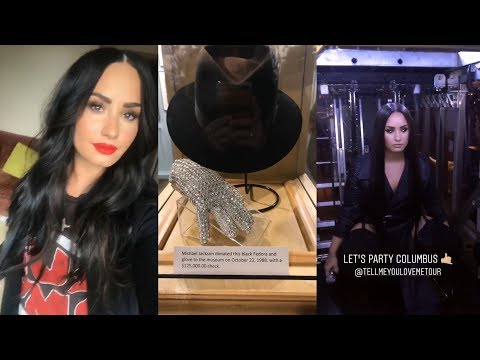 Demi Lovato  Snapchat Story  14 March 2018
