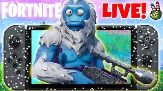 Pro Nintendo Switch Player! // NEW PAY TO WIN SKIN! // (Fortnite Battle Royale LIVE)