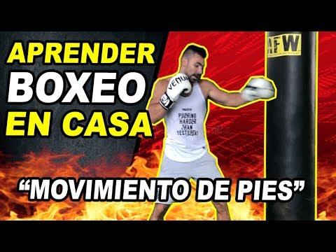 APRENDER BOXEO EN CASA ||�MOVIMIENTO DE PIES || PRINCIPIANTES