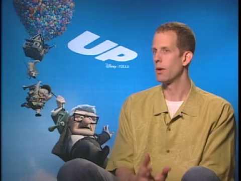 """Director Pete Docter Interview for """"Up"""" Disney/Pixar"""