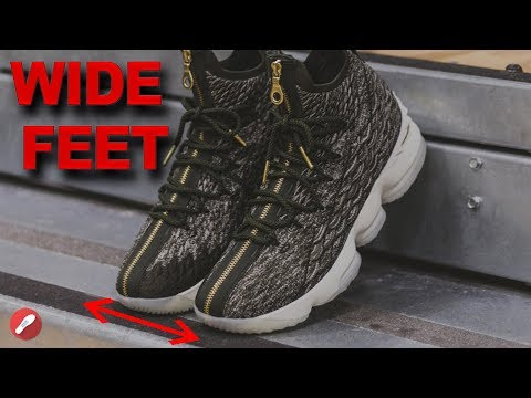Top Basketball Shoes for Wide Feet!