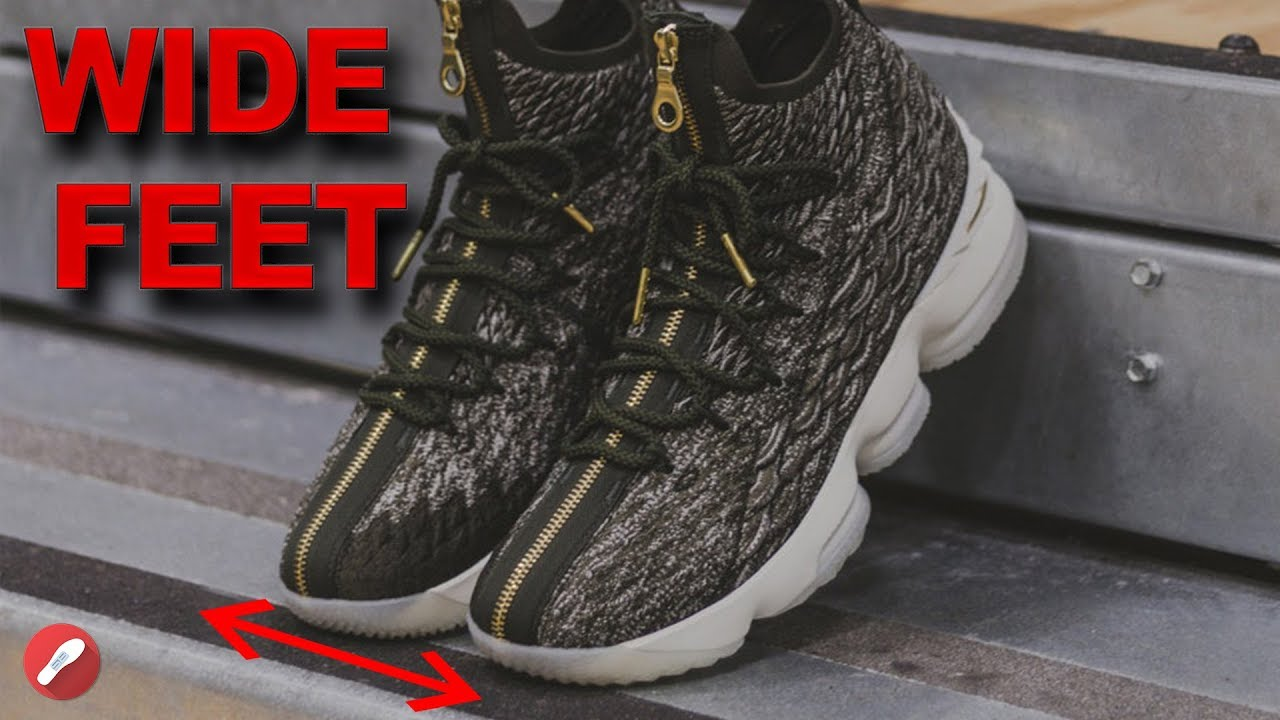 Top Basketball Shoes For Wide Feet Youtube