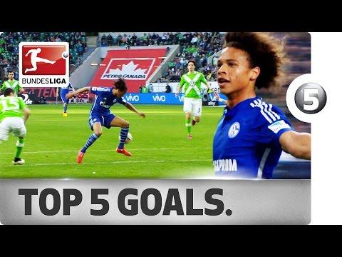 Leroy Sané – Top 5 Goals