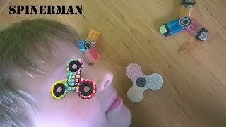 How to make your own spinner at home SPINNERMAN homecoming výroba spinneru