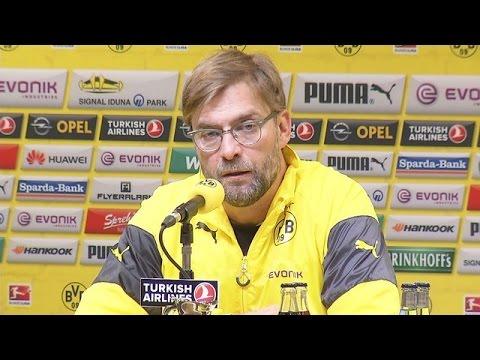 Pressekonferenz: Jürgen Klopp nach dem Derbysieg gegen Schalke 04 (3:0) | BVB total!