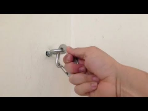 hanging chair bolt rental richmond va how to install eye bolts hang your hammock indoors solid concrete or cinder block