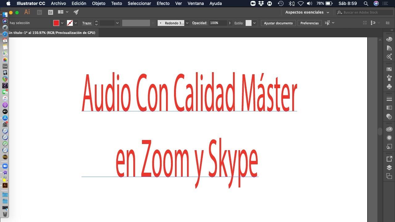Audio con calidad en Zoom para músicos
