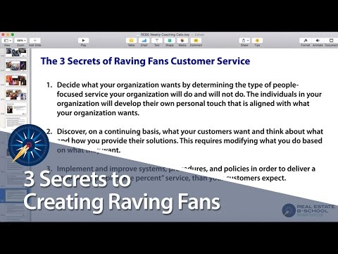 3 Secrets To Creating Raving Fans YouTube