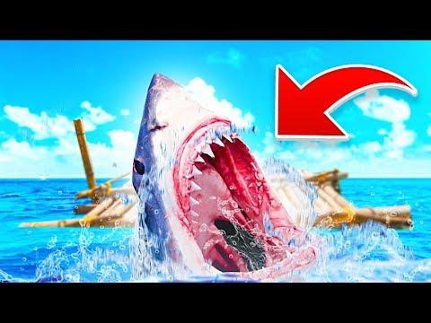 SHARK ATTACK!! (Raft #2)