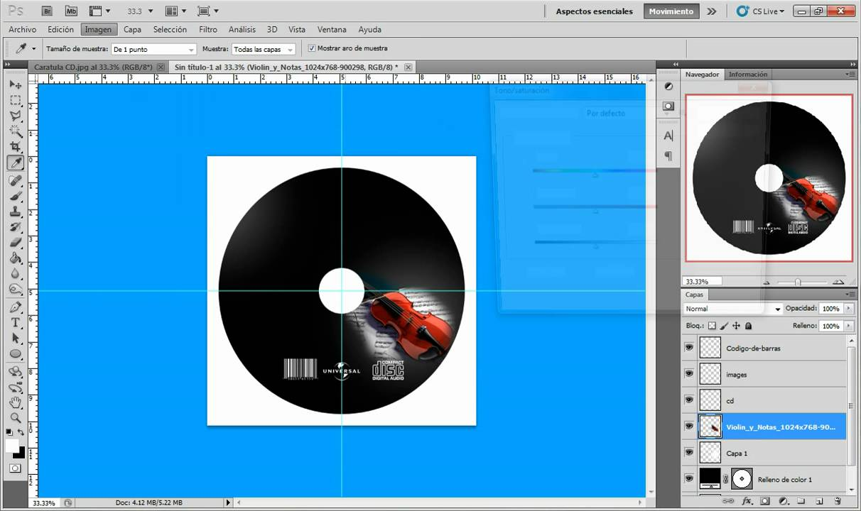 portada de CD con photoshop CS5 - YouTube