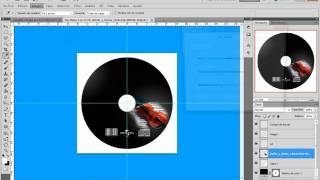 portada de CD con photoshop CS5