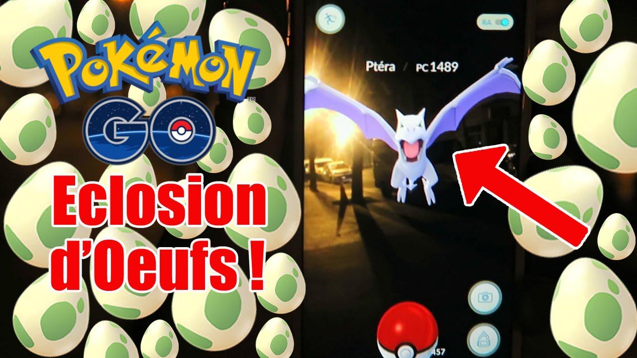 Ptera le pokemon go ultra rare eclosion d 39 oeufs pokemon go fr 40 youtube - Pokemon ptera ...