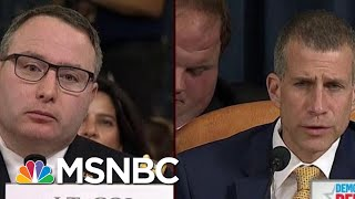 GOP Reaches New Low In Questioning Vindman's Loyalty | Morning Joe | MSNBC