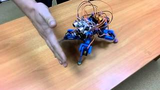 Четырехногий робот. Часть 2