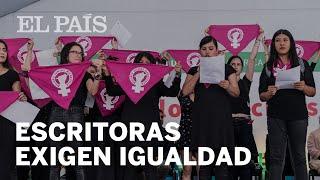 Las escritoras mexicanas exigen paridad de género
