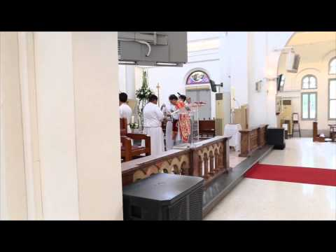 Gospel Acclamation - Alleluia 11 [Taizé] (Pentecost Mass 2015)