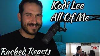 Coach Reaction - Kodi Lee - All Of Me
