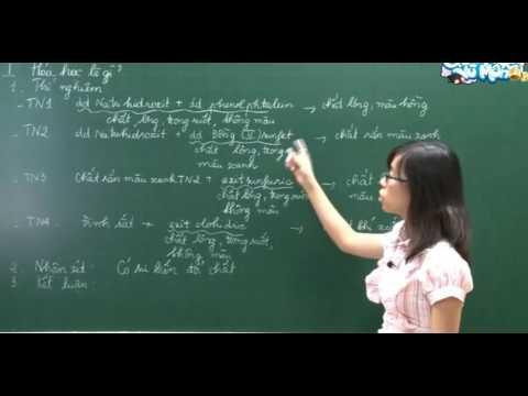 Bài giảng Hóa học 8 Bài 1: Mở đầu môn hóa học