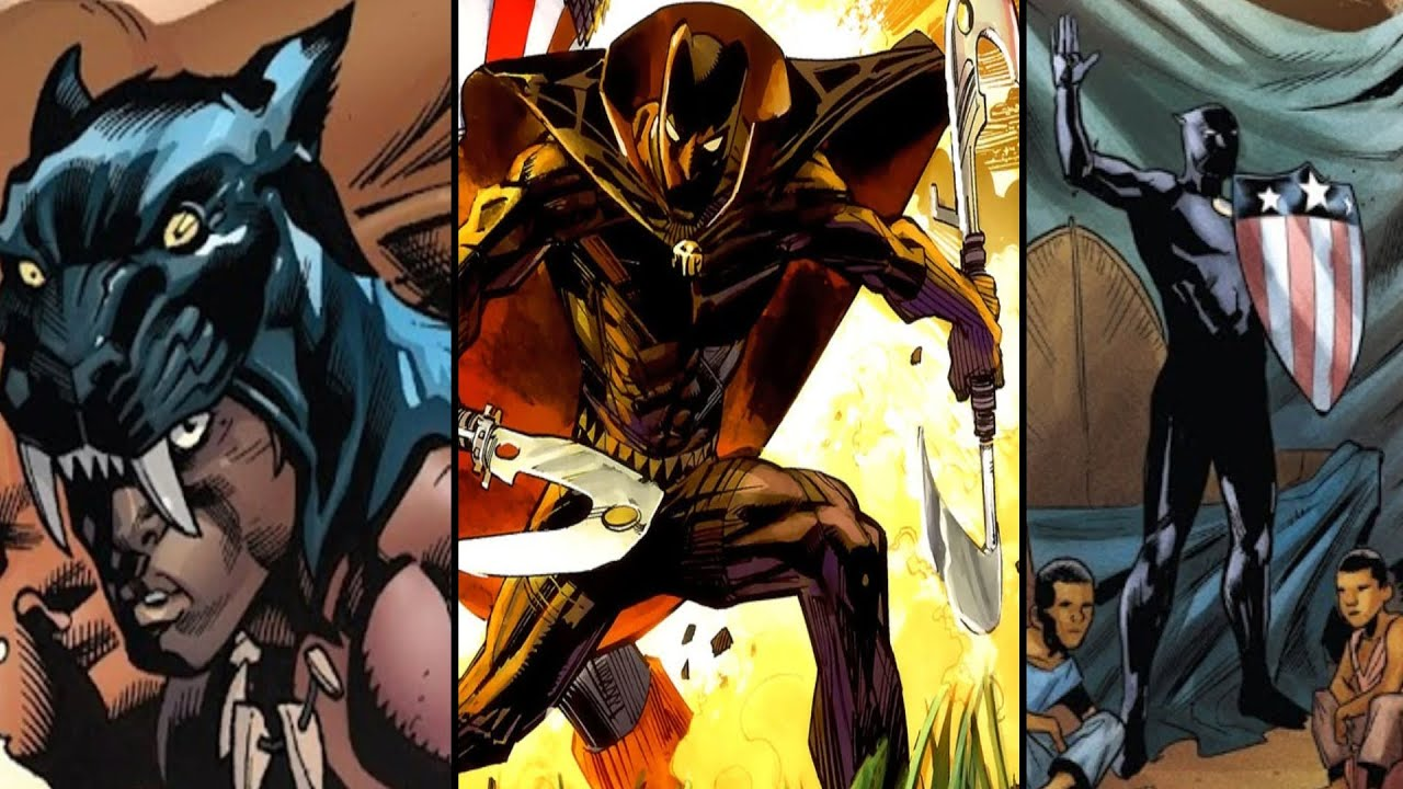 Download All of the Black Panthers (Earth-616) - Marvel Comics Explained