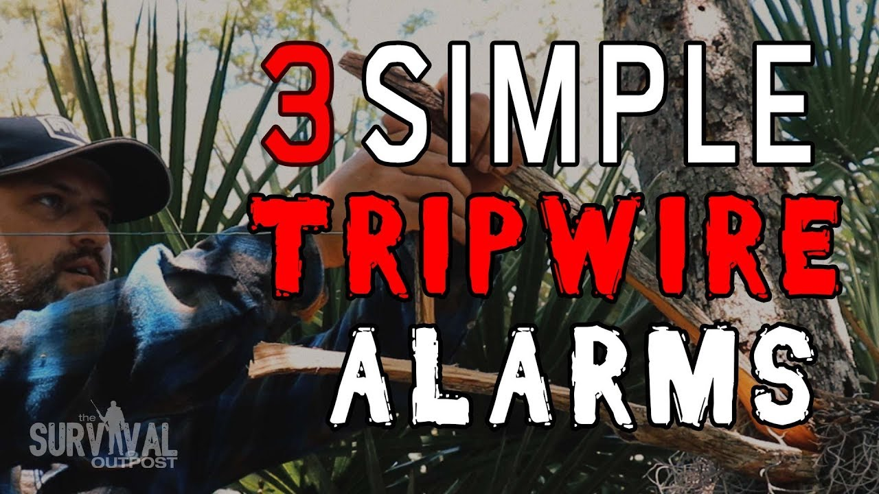 Download Three Quick & Easy Tripwire Alarms For Your Campsite #survivaltips #campinghacks