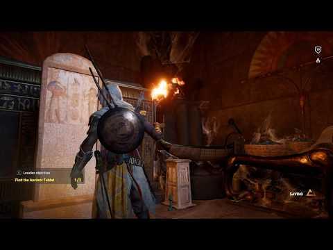 Assassin's Creed Origins - Ancient Tablet: Tomb of Sneferu