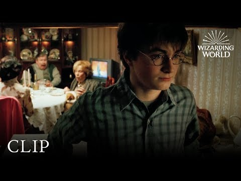 Dinner with Aunt Marge | Harry Potter and the Prisoner of Azkaban