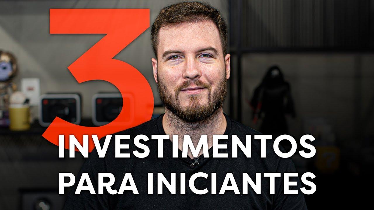 Download 3 INVESTIMENTOS PRA INICIANTES NA BOLSA DE VALORES!