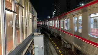 Osaka Metro御堂筋線21系11編成折り返し天王寺行き発着シーン