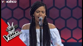 Jessica ' Fire on the mountain '@Asa Audition à l'aveugle TheVoiceAfrique francophone 2017