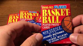 ASMR Whisper Sports Cards - 1991 Fleer Basketball