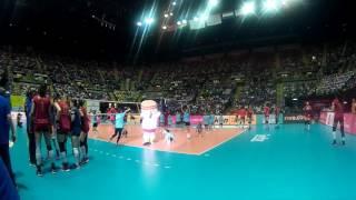 FIVB 世界女排大將賽2016 《動感校園活力操》表演 D