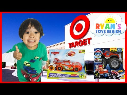 Toys Hunt Shopping Trip For Thomas & Friends And Disney Cars
