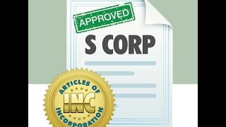 The S Corporation -- 60 Second Business Tip