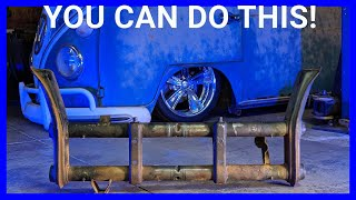 How to Lower your VW Bug For FREE!!