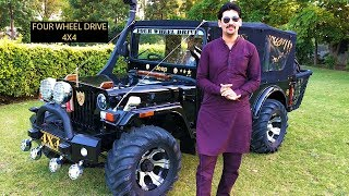 INDIA'S BEST 4X4 MODIFIED JEEP BY @ RAJESH JAIN MOTOR..FOR ORDER 9035785000