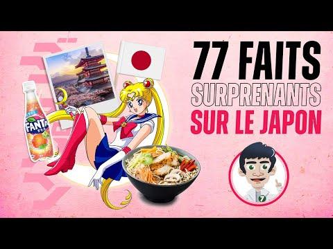 77 faits surprenants sur le Japon