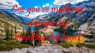 You Made Me Stronger- Regine Velasquez( with lyrics)